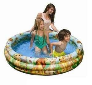 Bể bơi phao 3 tầng1m47 Lion King INTEX 58420