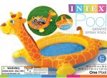 Bể bơi phao hươu cao cổ có vòi phun mưa INTEX 57434
