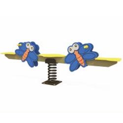 Bập bênh nhún lò xo cao cấp đôi bướm ZK139-58