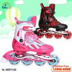 Giầy trượt patin Cougar 4 bánh phát sáng MZS701QS