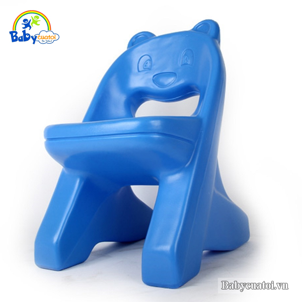 Ghế nhựa Hàn Quốc nhập khẩu gấu đáng yêu HN469