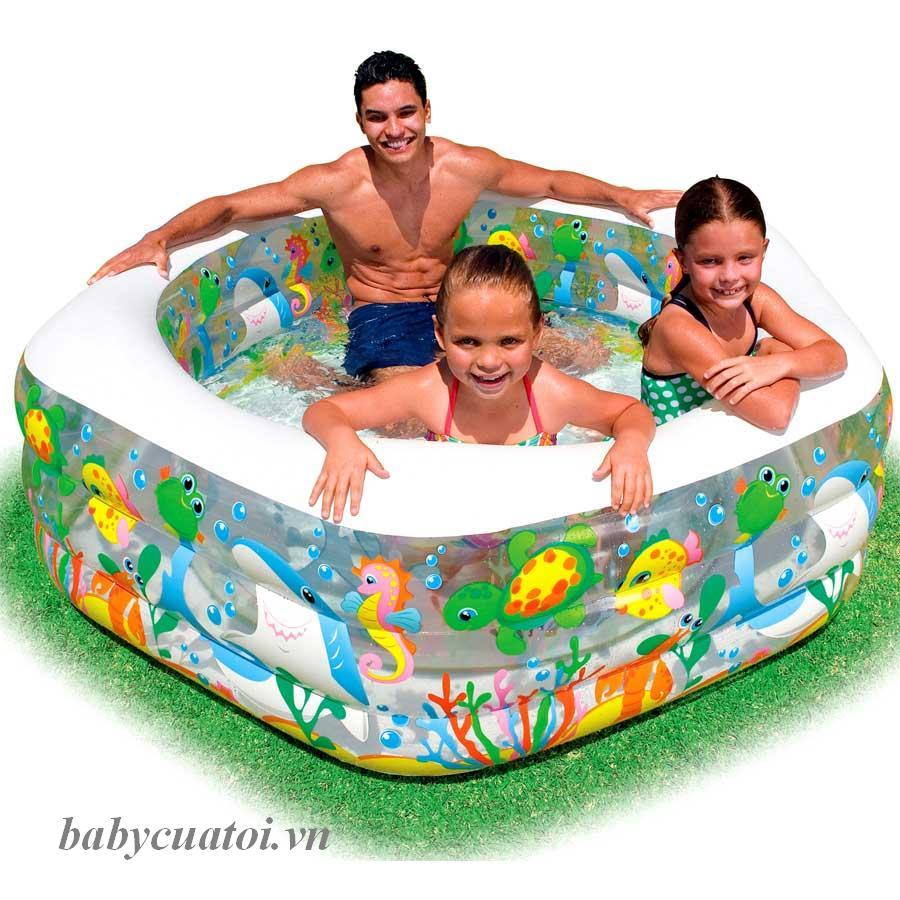 Bể bơi phao intex cho bé tại website đồ chơi trẻ em Babycuatoi.vn