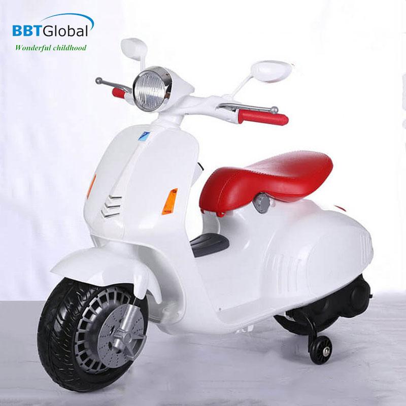 Xe máy điện Vespa trẻ em cao cấp 12V BBT-666B