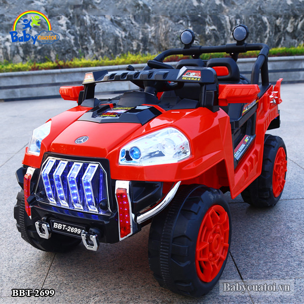 Ô tô điện trẻ em địa hình 4 động cơ BBT-2699