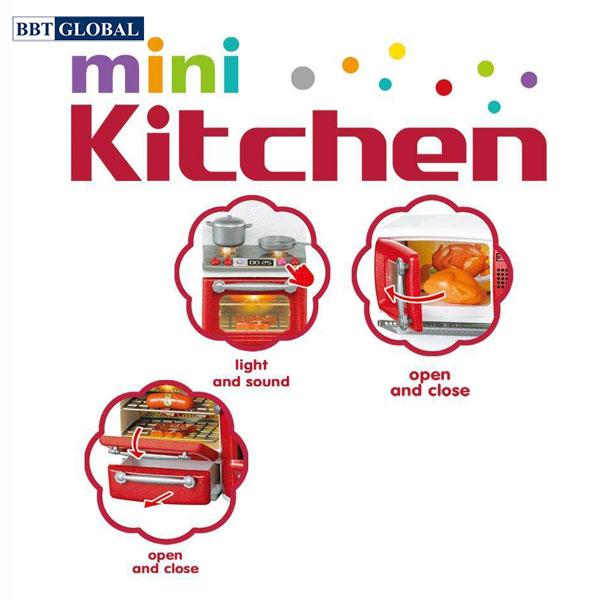 Đồ chơi nấu ăn mini kèm búp bê 66082
