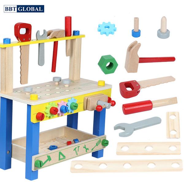 Đồ chơi sửa chữa bằng gỗ cao cấp MSN17080