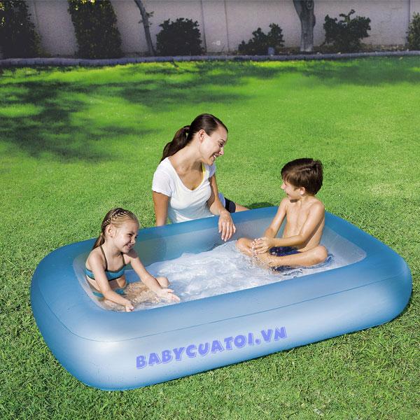 Bể bơi phao chữ nhật Bestway 51115