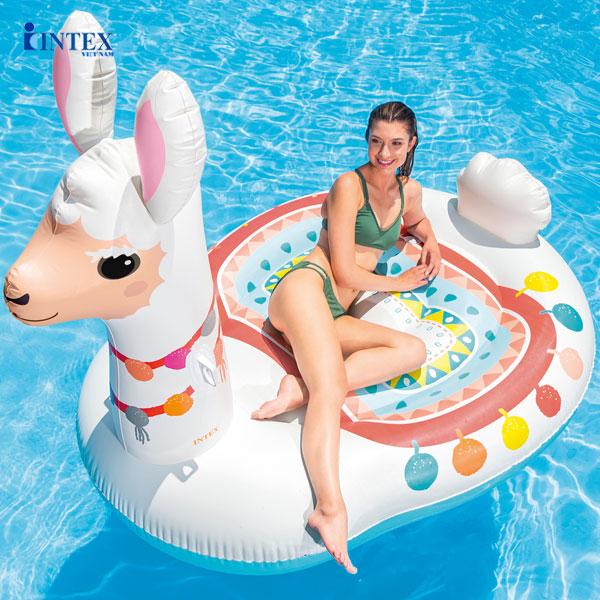 Phao bơi lạc đà khổng lồ INTEX 57294