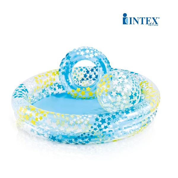 Bể bơi phao 3 chi tiết 1m22 cho bé INTEX 59460