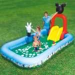 Bể bơi phao cầu trượt chuột Mickey Bestway 91016