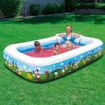 Bể bơi phao gia đình chuột Mickey 91008