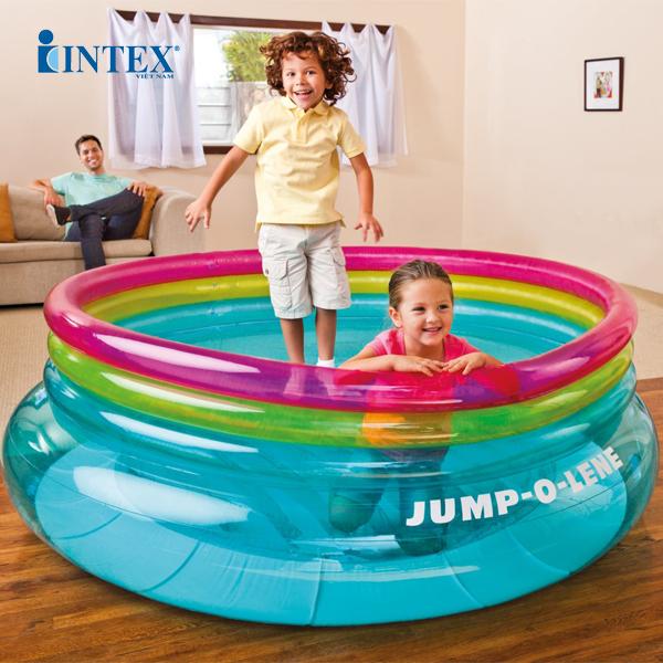 Nhà banh nhún tròn INTEX 48267