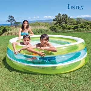 Bể bơi phao INTEX tròn xanh 57489