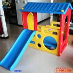 Nhà chơi cầu trượt Hàn Quốc DS704