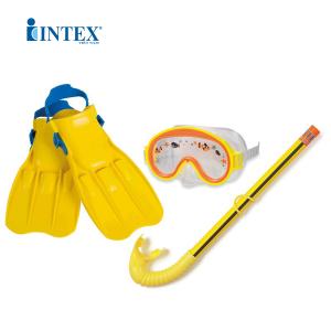 Bộ kính bơi chân vị ống thở trẻ em INTEX 55954