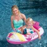 Phao bơi thuyền Barbie cho bé Bestway 93204