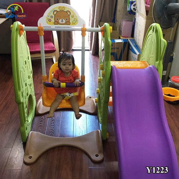 Cầu trượt Hàn Quốc CCOMO 4 trong 1 Y1223