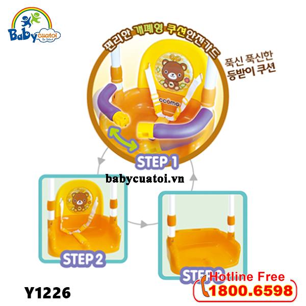 Cầu trượt Hàn Quốc CCOMO 5 trong 1 Y1226_5