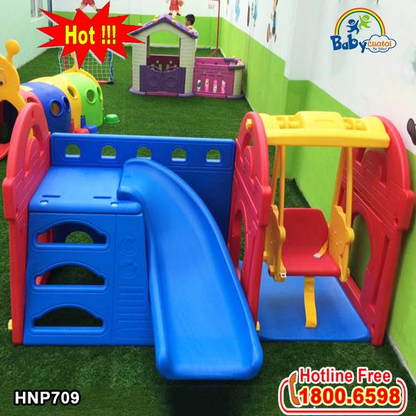 Cầu trượt xích đu Hàn Quốc HN709