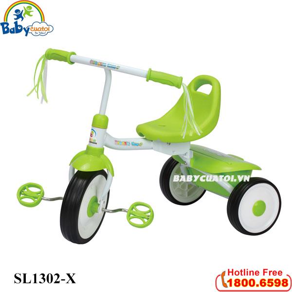 xe-dap-ba-banh-co-gio-dung-do-mau-xanh-sl1302-x