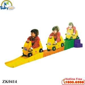 Bộ xe trượt dốc nhập khẩu và đường dốc ZK0414