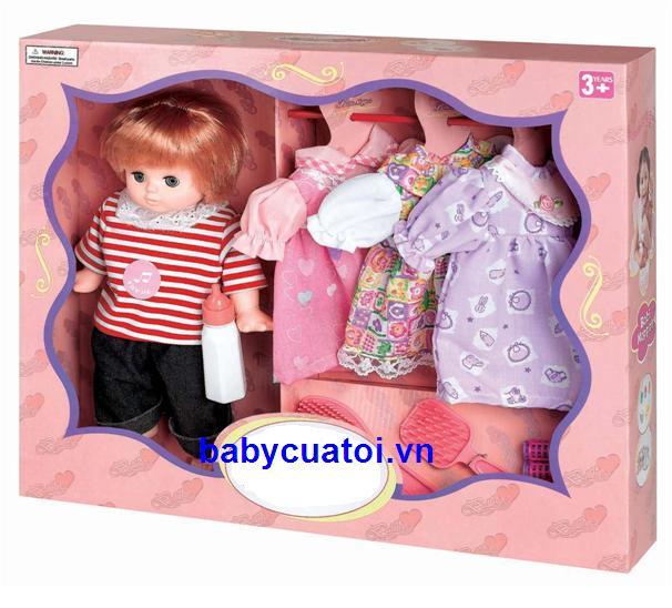 Đồ chơi búp thay đồ thời trang BBT Global 1301 - Bí quyết chọn đồ chơi trẻ em phù hợp với sự phát triển của trẻ
