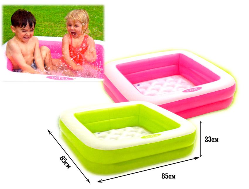Bể bơi phao trẻ em 85cm hình vuông INTEX 57100