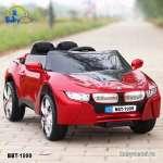 Ô tô điện trẻ em kiểu dáng BMW 2 động cơ đỏ BBT-1999D