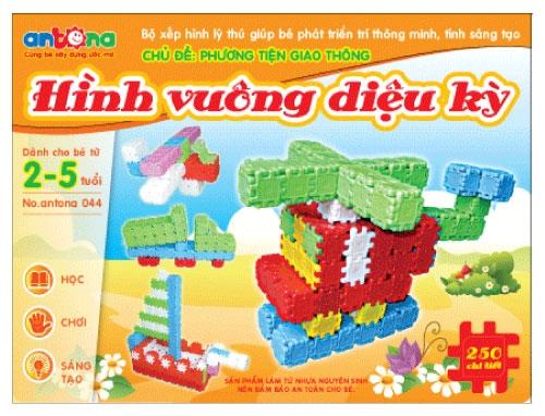 Đồ chơi xếp hình hình vuông - 7 gợi ý giúp bạn lựa chọn đồ chơi cho bé