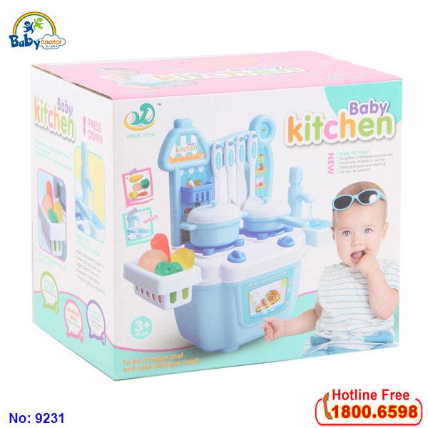 Bộ đồ chơi nấu ăn mini 9231