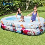 Bể bơi phao hình chữ nhật nữ hoàng băng giá Frozen Intex 58469