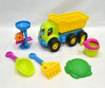 Bộ đồ chơi xúc cát ô tô, guồng quay và dụng cụ 365