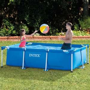 Bể bơi khung kim loại chữ nhật cho bé INTEX 28270