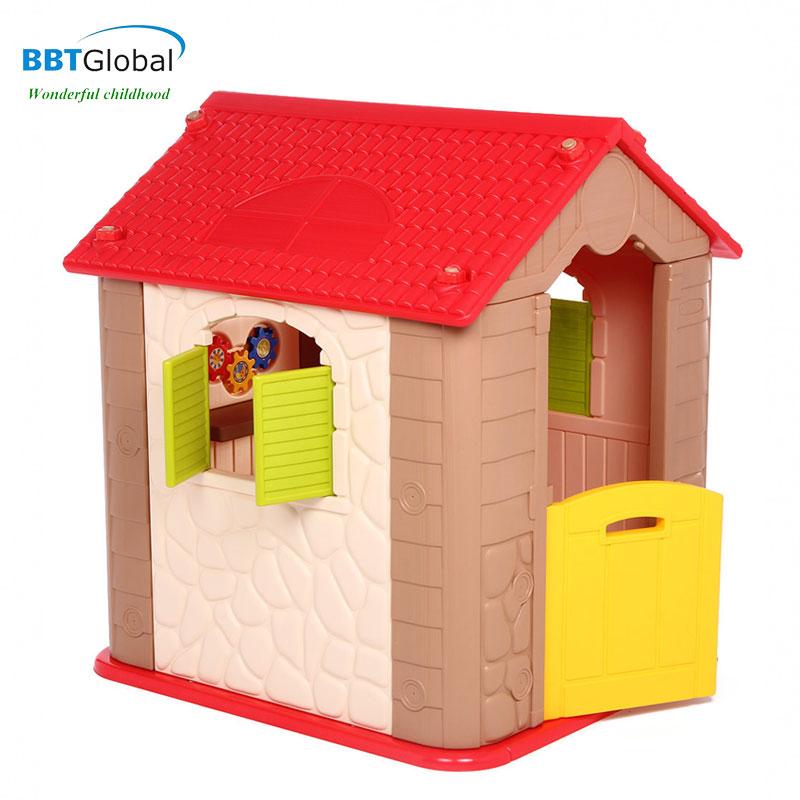 Nhà chơi cho bé Hàn Quốc ngói đỏ HN706