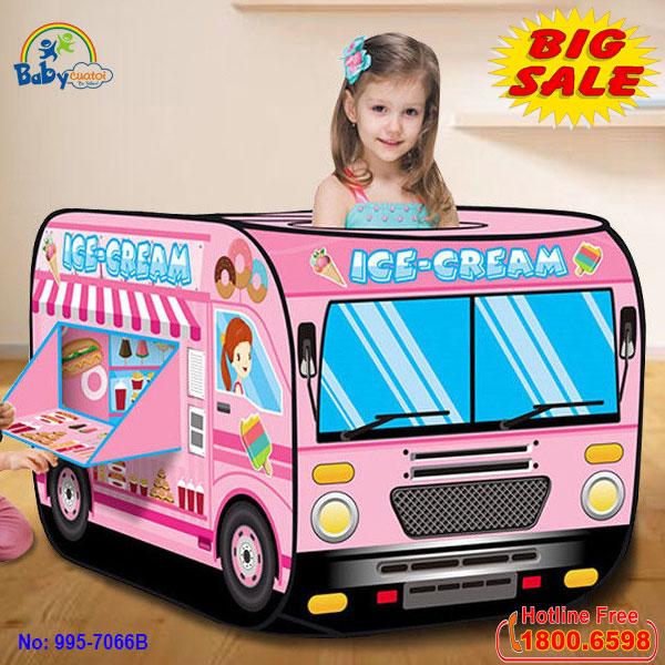 Nhà bóng ô tô kẹo Candy 995-7066B