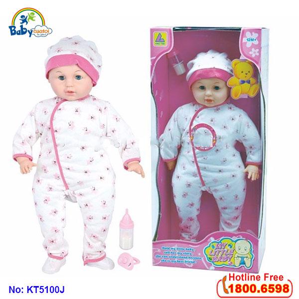 Đồ chơi búp bé xinh đẹp là món đồ chơi trẻ em cho bé gái 1 tuổi tuyệt đẹp