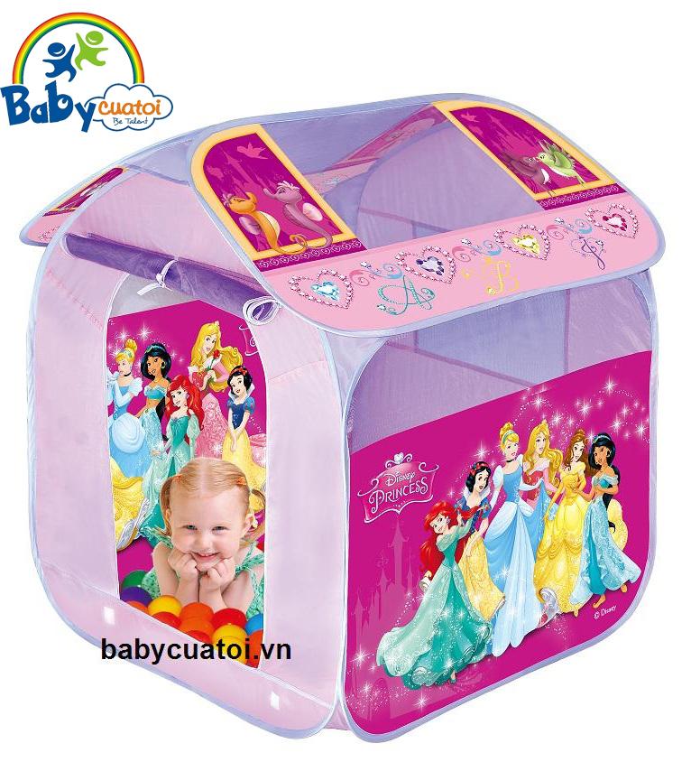 Nhà bóng cho bé hình công chúa kèm 50 bóng TJ4332