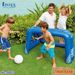 Khung thành bóng đá bơm hơi Intex 58507