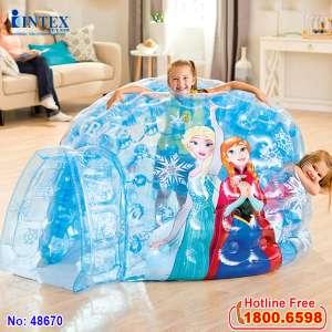 Nhà chơi nữ hoàng băng giá Frozen INTEX 48670