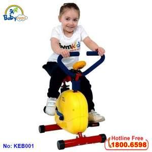 Thiết bị tập thể dục trẻ em- xe đạp bộ KEB001