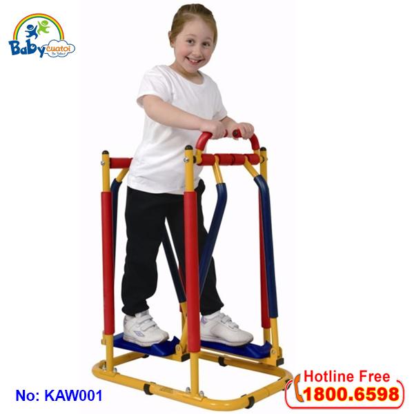 Thiết bị tập thể dục trẻ em-Máy đi bộ trên không KAW001