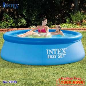 Vỏ bể tròn cổ bơm hơi 305*76cm (dành cho bể 28120,28122) mã INTEX 10318