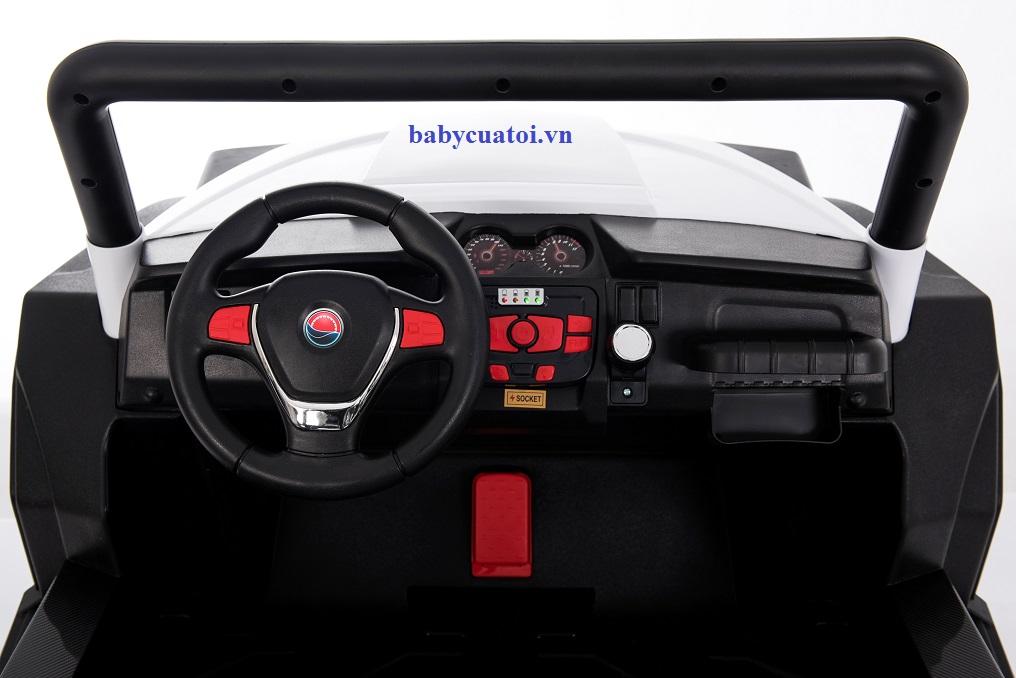 Xe ô tô địa hình cho bé cỡ lớn EU-999.99 màu đỏ