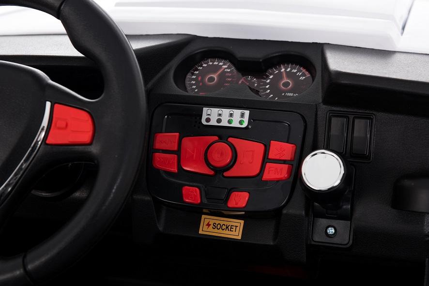 Xe ô tô địa hình cho bé cỡ lớn EU-999.99 màu đỏ | mạch nhạc