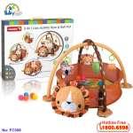 Thảm chơi hình sư tử kết hợp đồ chơi cho bé FC058
