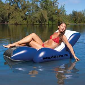Phao bơi tựa lưng thư giãn có đai cầm và tay vịn Intex 58868