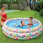 Bể bơi phao 3 tầng hình sao biển 1m68 INTEX 56440