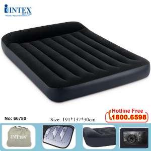 Đệm hơi INTEX tự phồng cao cấp màu đen 1m37 66780