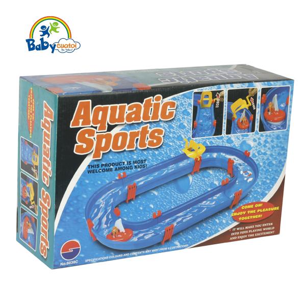 Bộ đồ chơi thả thuyền có dòng nước chảy 6038C