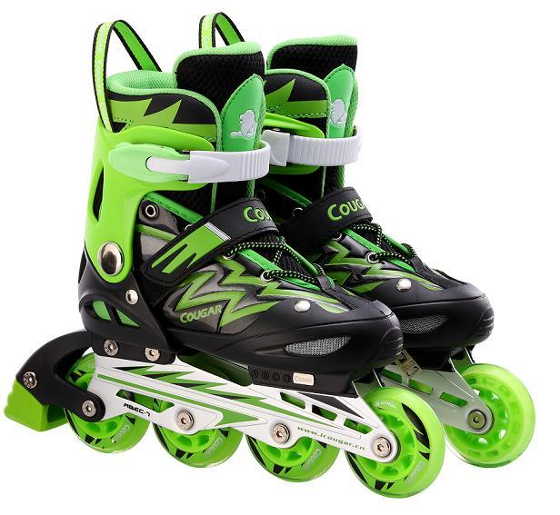giầy trượt patin giá rẻ cougar 835L xanh